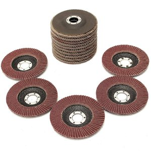 Wholesale metal grinding discs resale online - Freeshipping Flap Discs mm Sanding Discs Grit Grinding Wheels Discs Angle Grinder Jewerly Polishing Tools