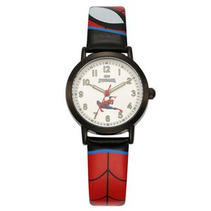 Hot selling children cartoon wristwatch marvel spiderman quartz watch students fan gift kids watches with Japan movemet