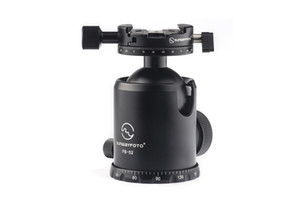 SUNWAYFOTO FB-52DDHi Ballhead Clamp Type:Panorama Clamp Bottom Thread Hole Depth:12mm Panning Base Diameter:70mm Side Tilt:90