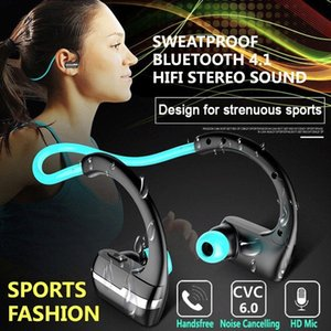 Wholesale P9 Wireless Bluetooth Headphone Sport Stereo Headset with Mic CVC Noise Cancellation Sweat Resistant for Xiaomi Huawei