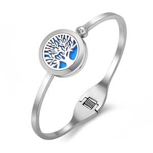 20MM 316l stainless steel perfume locket bangle diffuser locket bangle diffuser bangles