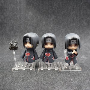 Wholesale The New Best Selling Naruto Figure Q Version Wood Leaf Akatsuki Uchiha Itachi Boxed Action Figure Doll Toy