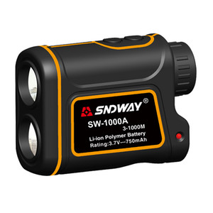 Wholesale SNDWAY Telescope Digital Laser Range Finder Monocular Distance Speed Angle Height Portable 1000 Yard 7X For Golf Hunting Outdoor