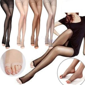 Wholesale 1 Sexy Women Girls Open Toe Sheer Leggings Ultra Thin Pantyhose Stockings New Arrival