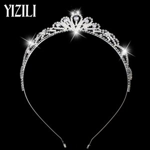 Wholesale Fashion luxury zircon glittering bride wedding hair ornament gift party high end jewelry temperament ladies Christmas gifts