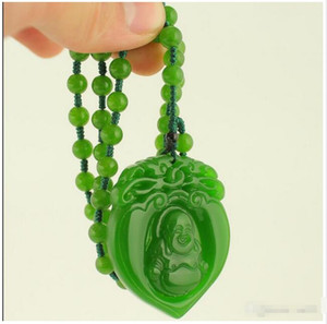 Wholesale laughing buddhas resale online - Rush to buy light Xinjiang Hetian jade jasper pendant pendant laugh belly buddha
