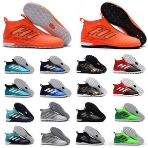 2018 high top mens soccer cleats ace 17 Crampons de football boots indoor soccer shoes ACE Tango 17 Purecontrol IN TF Turf high quality hot