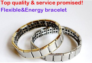 Wholesale energy magnetic titanium germanium bracelet for sale - Group buy hot selling New arrival Energy bracelet Titanium Nano Energy Magnetic Germanium Titanium Bracelet Pain Relief Powerfull