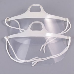 HOT 10Pcs Transparent Plastic Face Mask Environmental for Tattoo Cleaning Supplies Permanent Makeup Accessorie accessoire tatoo