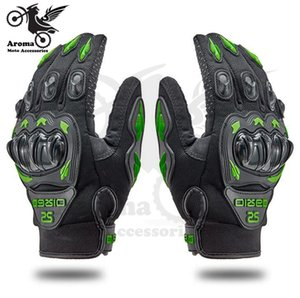 Wholesale 4 color ourdoor sport protect motorbike glove riding racing scooter hand protection guantes moto gloves motorcycle handglove