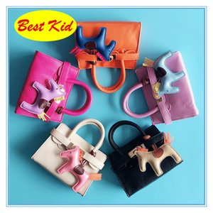Wholesale handbag for children girls resale online - BestKid DHL Small size handbags for Baby girls Kids Mini Leather Totes Child shoulder bags Toddlers Lovely coin Purse BK060