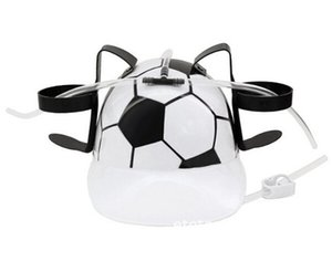 Wholesale Football Cup Beverage Helmet Drinking Hat for Beer Cola Coke Soda Miner Drinking Hat Lazy Lounged Straw Cap Birthday Party Cool Unique Toy