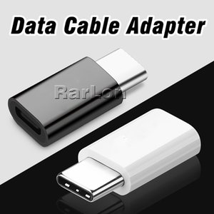 Wholesale Micro USB to USB Type C Adapter Connector Male to USB Data Female Mini Data Cable Adapter For LG Google