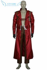 Wholesale Newest High Quality Devil May Cry III Dante Uniform Cosplay Costume Perfect Custom For You