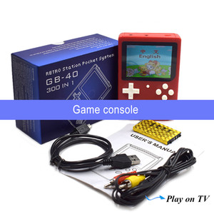 Portable video games Retro Mini Game Console 8-bit game player TV Output For FC Games 300 games free shipping