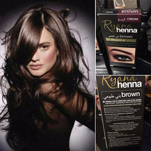 Wholesale dye eyebrows brown for sale - Group buy Professional Make up Eyebrow Henna Eyelashes Cream Natural Plant Colour Mehendi Eyebrow Tint Set Dye Brown Black With Gift