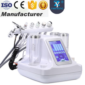 Wholesale microdermabrasion rf machine resale online - 6in1 Hydro Derabrasion Peeling Machine SPA BIO Lifting RF Skin Rejuvenation Hydra Microdermabrasion Oxygen Spray Facial Skin Care Equipment