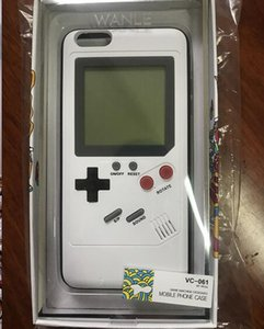Wholesale Tetris Game Boy Player Phone Case Back Cover For iPhone S Plus Gameboy