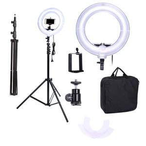 Camera Photo Video 13 inches Ring Fluorescent Flash Light Lamp for Portrait,Photography,Video Shooting with Tripod NO Dimmable
