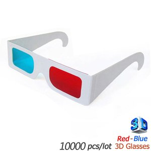 Wholesale red blue d glasses white paper red cyan View Anaglyph Red Cyan Red Blue d glasses