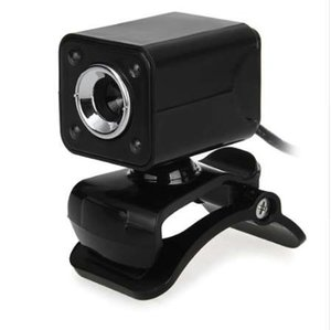 Wholesale 1080P W LED HD Webcam Camera USB Microphone for Computer PC Laptop Black
