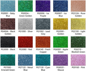 Wholesale acrylics sheets resale online - 300mm x mm x mm Acrylic PMMA Two Sided Glittering Color Sheets color