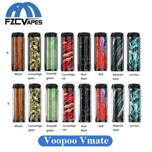 Wholesale Authentic Voopoo Vmate W Box Mod Light Weight Gene Chip E Cigarette Mod Fast Firing Original Voopoo Vape