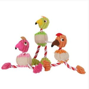 Wholesale 28 cm Pet Products Bird Shape Plush Dog Toy for Small Dogs