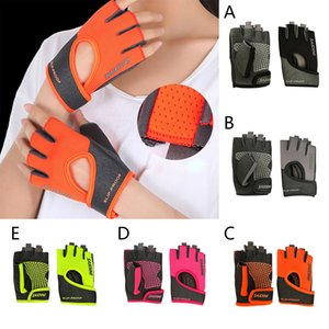 Women's Yoga Fitness Gloves Weight Lifting Gym Training Sports Bicycle Gloves Black Pink Gray Green Orange Drop Shipping