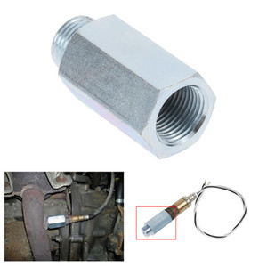 M18 X 1.5 O2 Lambda Oxygen Sensor Bung Adapter Extender Spacer Silver Dossy on Sale