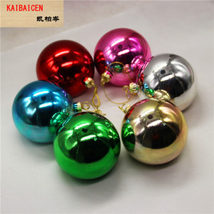 Wholesale Fashion DIY Blank Sublimation Christmas Ball For Heat Heat Transfer press Machine decoration Gift