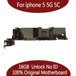 Tested Good Working For iPhone 5 5G 5C Motherboard Mainboard Logic Board 16GB 32GB IOS system