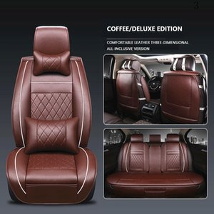 3D Universal Car Seat Cover Breathable PU Leather Car Seat Cover Beige for Jeep Grand Cherokee Liberty Jeep Seat Covers Grand Cherokee on Sale