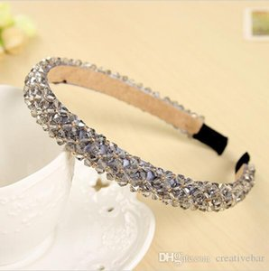 Wholesale Shining Crystal Fashional Modern Style Headband Hairbands for Girls Headwear Hair Accessories for Women