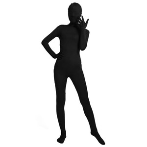Wholesale Ensnovo Unisex Zentai Suits Ladies Adult Full Body Spandex Suit Lycra Zentai Bodysuit Cosplay Costumes Tights Party Supply