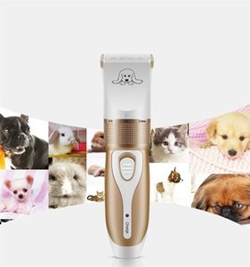 Wholesale Grooming Trimming Kit Shaver Pet Supplies Portable Removable Shavers Anti Wear Electric Dog Hair Clipper Cutter Professional cg jj