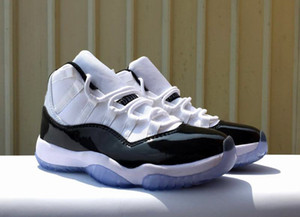 Kids 11 Concord 2018 Basketball Shoes Feature The Number 45 On The Heel Child Black White 11s Sneaker on Sale