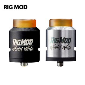 Wholesale rigging clamps resale online - Rig Mod Model RDA with Drip Tip BF pin Spring clamp Design Build Deck E cigarettes RDA