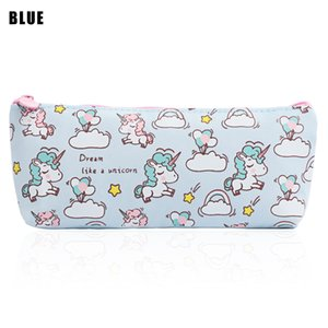 1PC Girl Kawaii Canvas Mini Necessary Cosmetic Bag Toiletry Bags Women Makeup Pouch Travel Case Pouch Zip High Quality Box