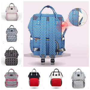 Mommy Backpacks Fashion Mom Nappies Bags Brand Maternity Backpacks Large Desinger Nursing Outdoor Travel Bags Baby Stollers Hangbag YL64-2