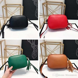 Wholesale Classic Marmont Women Camera Crossbody Bags Fringed Female Shoulder Flap Bags Colors High Quality Clutch And Purse Handbags Original Box