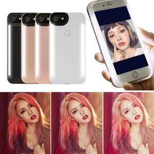Wholesale LED Light Case Illuminated Selfie Light LED Case for iPhone X iPhone Galaxy S8 Plus Cellphone Cover Case