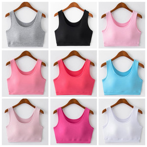 Wholesale Yoga Sports Bras Gym Running Vest Push Up Fitness Solid Camis Elastic Fashion Crop Tops Adjustable Tanks Underwear Yoga Outfits OOA4884