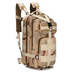 9colors 3P Outdoor Tactical Backpack 30L Camping bag Army Trekking Sport Travel Rucksack Camping Hiking Trekking Camouflage Bag