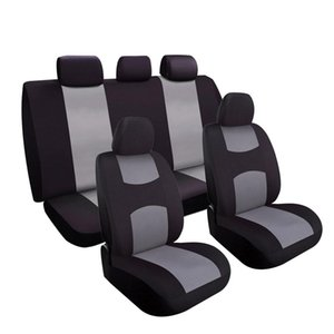 Charcoal Car Seat Covers Set Universal Fit For Sedan SUV Truck Split Bench Seat Cover Accessories Car Seat Protectors on Sale