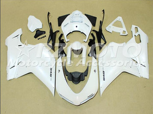 Wholesale 848 fairings for sale - Group buy Injection mould Complete Fairings For Dukati Dukati Dukati Motorcycle White X32