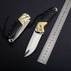 Wholesale Horn Handle Utility Folding Pocket knife HRC Blade Outdoors EDC Hunting Tools Survival Tactical Camping Knives Very Sharp P549F