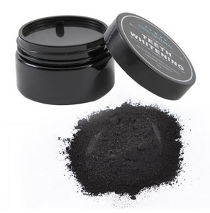 Wholesale kit tooth whitening for sale - Group buy New Single Box Teeth Cleaning Whitening Power Activated Organic Charcoal Powder Beautiful Smile Teeth Tooth Whitening Black Loose Powder g