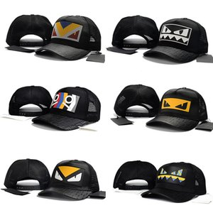 Wholesale Famous Italy F Brand Adults Youth Summer Caps Fashion Design Spring Autumn Monster Eyes Hats Luxury Men Women Casual Ball Cap Funny Mesh Hat