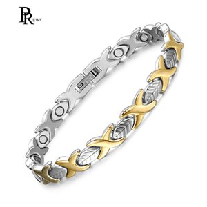 Wholesale Elegant Magnetic Bracelet for Women ions Pain Therapy Healing Arthritis Sleek Cuff Wristbands